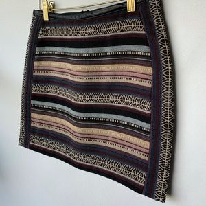 Size 2, H&M, quilted mini skirt